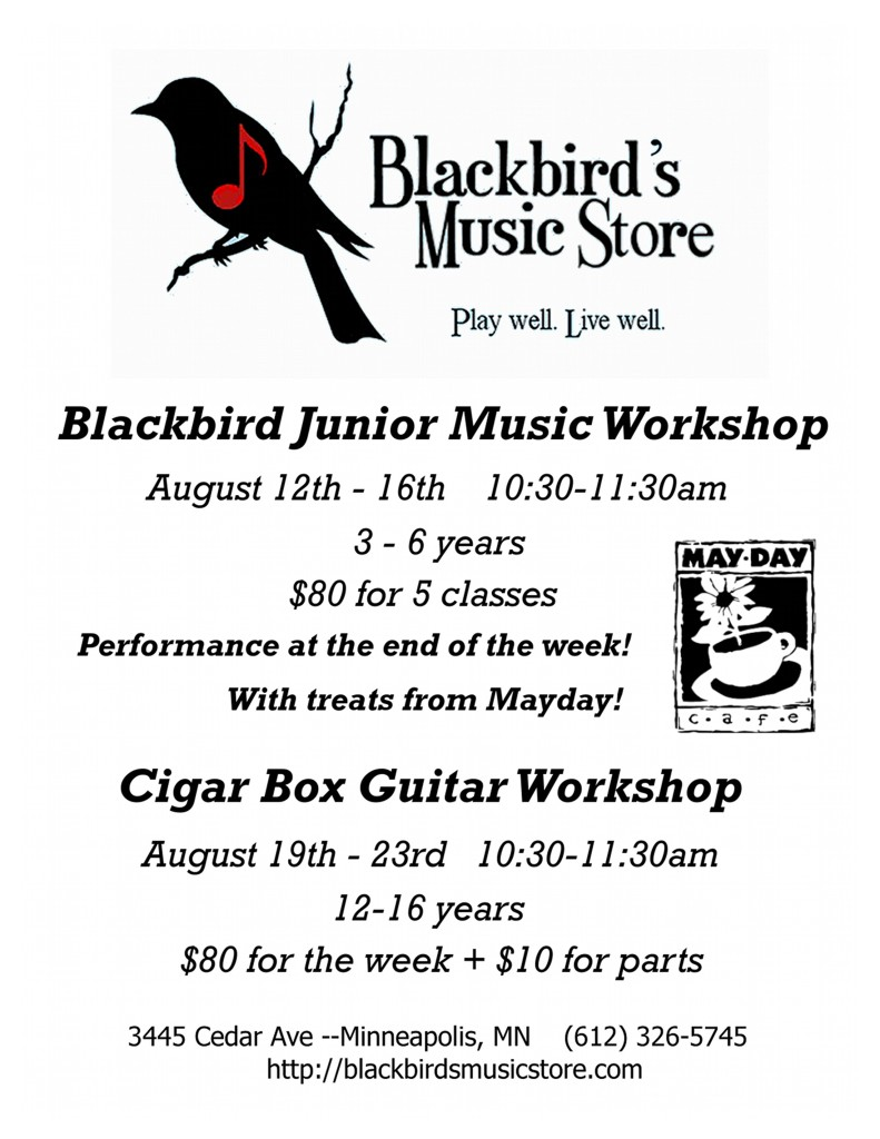 Blackbird Final Ed Workshop Aug 12-23